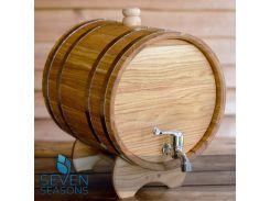 Бочка дубовая (жбан) для напитков Seven Seasons™, 80 литров