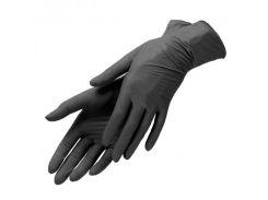 Перчатки нитриловые нестерильные SafeTouch Black S 1 пара