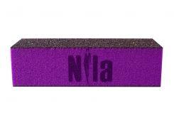 Брусок шлифовочный Nila (пурпурный) 80x80x80