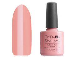 Shellac CND Salmon Run (телесный розовый эмаль)