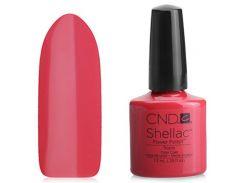 Shellac CND Tropix (ярко-коралловый)