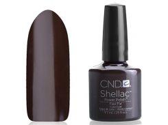 Shellac CND Faux Fur (шоколадно-коричневый)