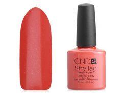 Shellac CND Desert Poppy (персиковый)