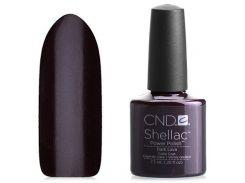 Shellac CND Dark Lava (темный фиолетово-бордовый с микроблёстками)