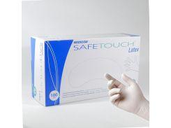 Перчатки латексные нестерильные опудренные Medicom SafeTouch E-Series (размер M) 50 пар