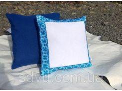 Подушка в украинском стиле с фотографией
