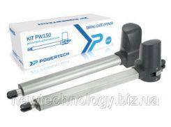 Комплект автоматики для распашных ворот 24V PW 150