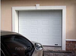Секционные ворота RSD01SC-UA №4 ширина 2750 высота 2150 коричневые