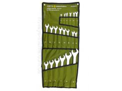 Набор ключей рожково-накидных 6-32 мм 20 пр. на полотне 101200 Автотехника