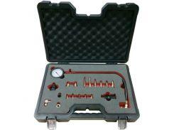 Компрессометр дизельного двигателя, 19 ед., М18х1.5 мм, М24х2.0 мм, М24х1.5 мм, М10х1.0х68 мм, М10х1.25х54 мм, М, F-04A1014D FORSAGE