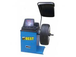 "Балансировочный стенд для колес 10-24""дюйма W60-HB BEST"