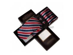 Пестрый галстук в подарочном наборе