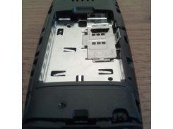 Средняя часть корпуса для Nokia X2-02 чёрная