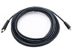 Видео кабель PowerPlant HDMI - micro HDMI, 5м, позолоченные коннекторы, 1.3V