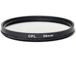 Светофильтр PowerPlant CPL 58 мм