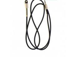 AUX кабель 3.5mm L-образный sp-255 черный