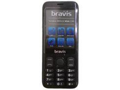 Мобильный телефон Bravis C281 Wide Black
