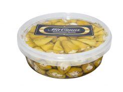 Перец Кабанаки зеленый фаршированный сыром «Фета» 2 л