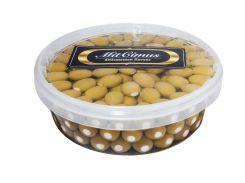 Маслины зеленые фаршированные сыром «Фета» 2,0 л
