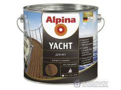 "Яхтный лак ""Alpina Yachtlack"" глянцевый 0.75 л"