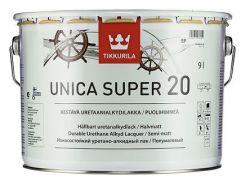 Лак Unica Super Tikkurila для дерева Уника Супер, 2.7л полумат