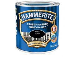 Краска Hammerite гладкая 2,5л черная