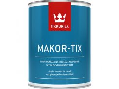 TIKKURILA MAKOR-TIX 10Л Серый металик