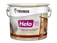 Лак паркетный TEKNOS helo 15 2.7 л. матовый Текнос хело 15