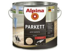 Лак Alpina Parkett GL глянцевый 0,75л