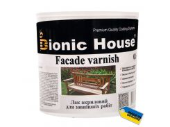 Bionic House Facade Varnish 10л полумат