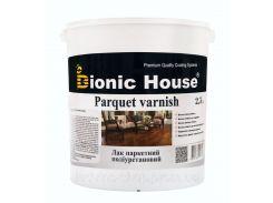 Паркетный лак Bionic House Parquet Varnish глянцевый 0,8л
