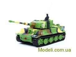 Радиоуправляемый танк микро 1:72 Tiger со звуком (хаки зеленый)