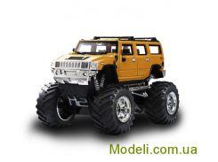 Радиоуправляемый микро джип 1:43 Hummer (желтый)