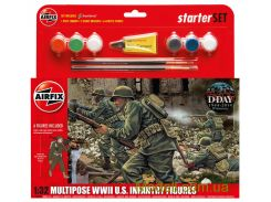 Подарочный набор с набором фигурок американской пехоты