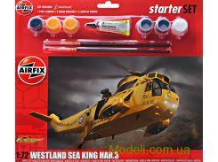 Подарочный набор с моделью вертолета Westland Sea King Har.3