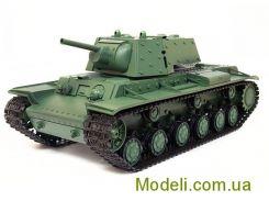 Радиоуправляемый танк 1:16 Heng Long KV1 с пневмопушкой и дымом