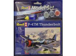 Подарочный набор с самолетом P-47 M Thunderbolt