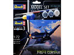 Подарочный набор c моделью самолета F4U-4 Corsair