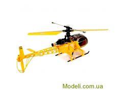 Вертолет 4-х канальный большой радиоуправляемый 2.4GHz WL Toys V915 Lama (желтый)