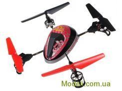 Квадрокоптер радиоуправляемый 2.4Ghz WL Toys V949 UFO Force (фиолетовый)