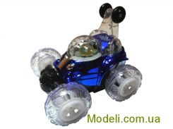 Перевертыш на радиоуправлении мини Cool Lamp с аккумулятором (синий)