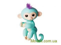 Ручная обезьянка на батарейках Happy Monkey интерактивная (зеленый)