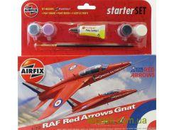 Подарочный набор с моделью самолета Red Arrows Gnat