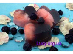 Формовое натуральное мыло Чёрная смородина (80 г)
