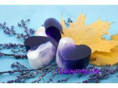 Формовое натуральное мыло Лаванда (80 г)