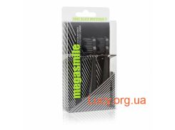 Насадки к звуковой электрощетке Megasmile Sonic Toothbrush ІІ Replacement brushes ink black 2шт