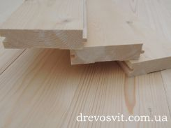 Дерев'яна шпунтована дошка для підлоги.