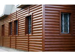 Блок хаус для зовнішньої обробки