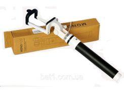 Штатив монопод для селфи с кабелем AUX Monopod Macaron with cable black