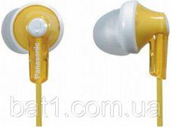 Наушники для телефона вакуумные Panasonic RP-HJE118GU-Y